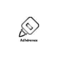 Adhérence impression