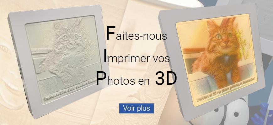Imprimez vos photos en 3D